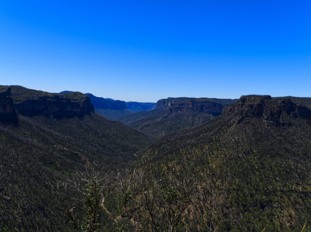 Views of Burra Korain Head to the East from Asgard Head lookout